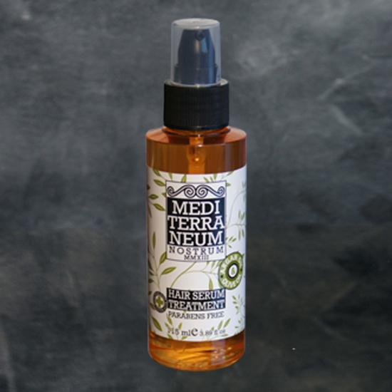 Ser tratament par cu ulei de argan si ulei organic de masline Mediterraneum F1