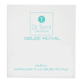 Fiole cu laptisor de matca pentru toate tipurile de ten Gelee Royal Dr. Temt F1