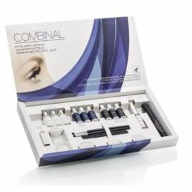 Imagine Permanent de gene cu silicon laminare Combinal Eyelash Lifting kit Dr. Temt